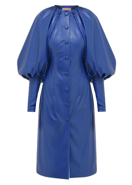 BALLOON SLEEVES DRESS