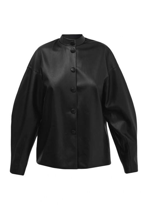 POWER LEATHER SHIRT