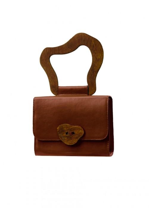 LIYA SIGNATURE BROWN BAG