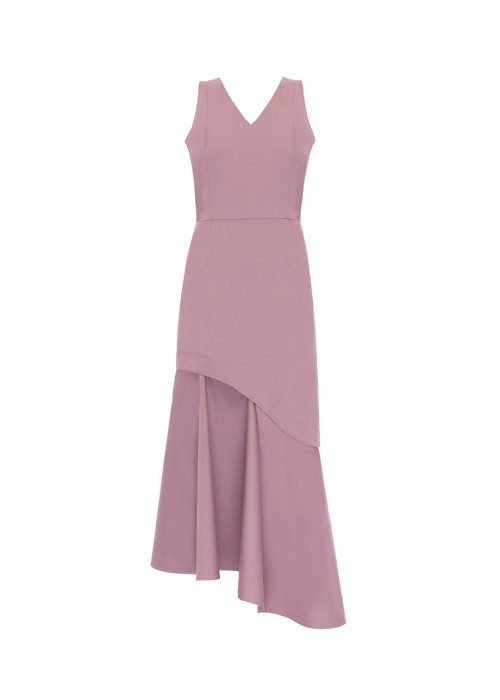 DRESS WITH ADJUSTABLE LENGTH