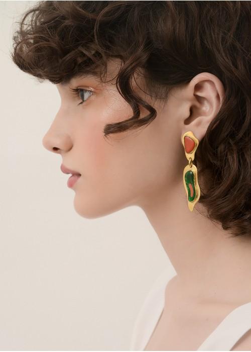 LAVA DROP EARRINGS
